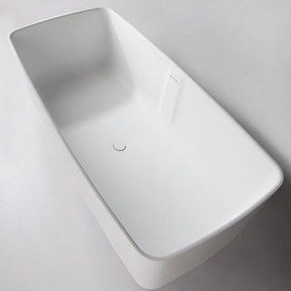 Ванна отдельностоящая каменная Solid surface 168*80см, Volle 12-40-034