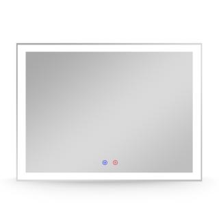 Зеркало 80*60см с подсветкой, диммером, подогревом, Volle 16-13-800